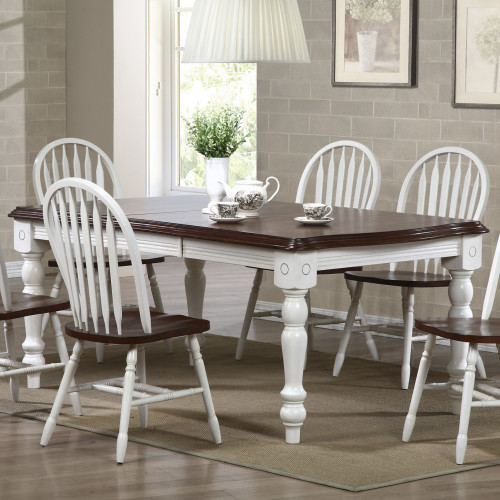 Sunset Trading 7pc Extension Dining Set with Arrowback ...