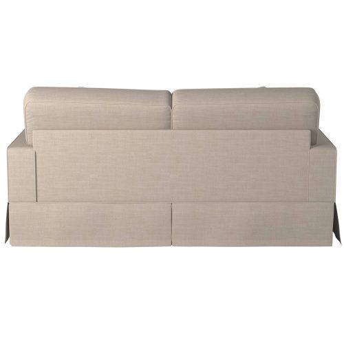 Americana Slipcovered Sofa – back view - SU-108500-466082