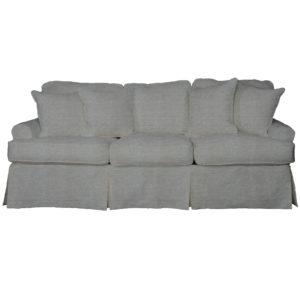 Sunset Trading Horizon Slipcovered Sleeper Sofa And Chaise