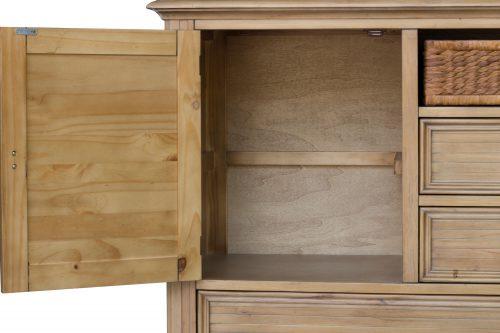 Vintage Casual Dresser - side door open - CF-1230-0252