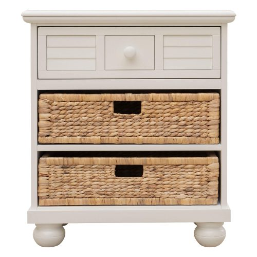 Ice Cream at the Beach collection - Nightstand End Table - front view - CF-1737-0111