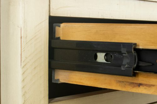 Shades of Sand dresser with mirror - hardware detail - CF-2330_34-0490