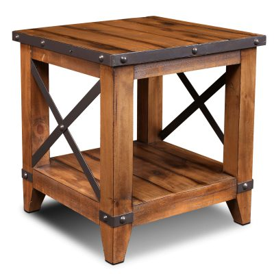 End Table - Rustic Collection HH-1365-100