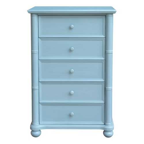 Ice Cream at the Beach Collection - Chest with drawers - 0156 Finish - front view - CF-1741-0156
