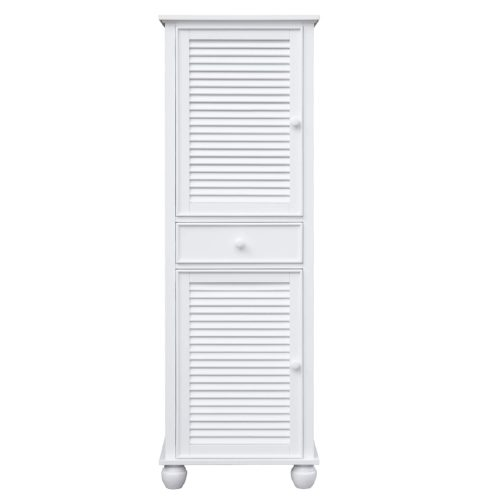 Tall Cabinet with Drawers - front view - CF-1145-0150