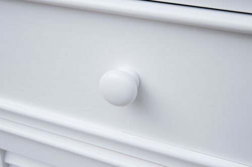 Tall Cabinet with Drawers - knob detail - CF-1145-0150