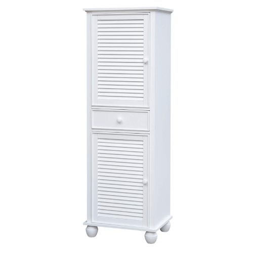 Tall Cabinet with Drawers - three quarter view - CF-1145-0150