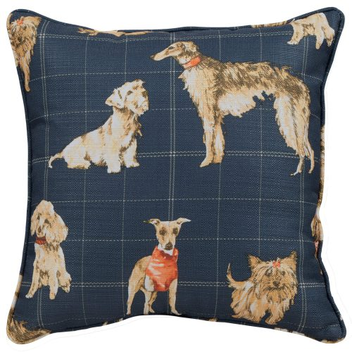 Dog Daze Pushback Recliner Pillow - Front view SU-1090-86-8034-47