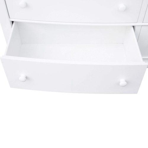 Dresser with Mirror - bottom drawer open - CF-1130-34-0150