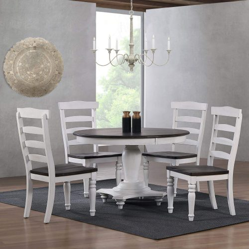 French Chic - Ladder Back Chair - Table Setting - DLU-FC4848-6PC
