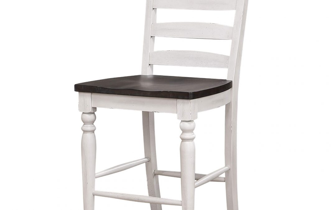 French Chic Ladder Back Stool