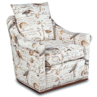Birdscript Swivel Chair - Three quarter view - SU-1593-93-854825
