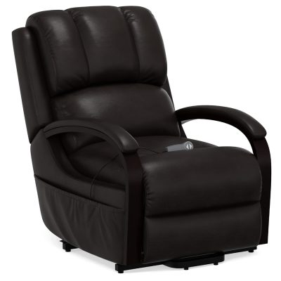 Boost Power Lift Recliner in Espresso - three-quarter view - SY-1337-89-2340-89