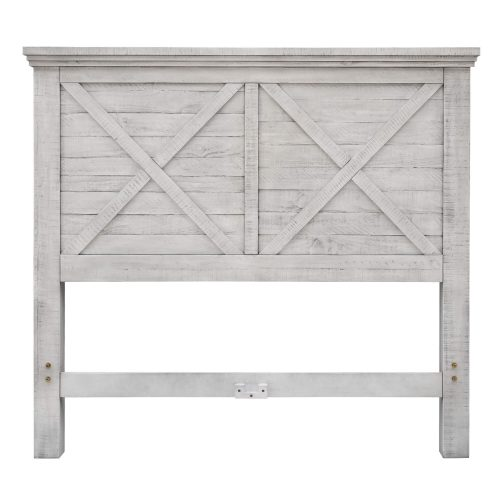 Crossing Barn Collection - Queen size bed frame - headboard - CF-4101-0786-Q5P