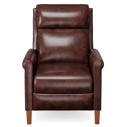 Ethan Pushback Recliner shown in Espresso - Front view - SY-1916-86-9210-89