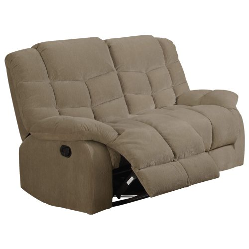 Heaven on Earth Collection - Reclining loveseat - Three-quarter view partial recline - SU-HE330-205