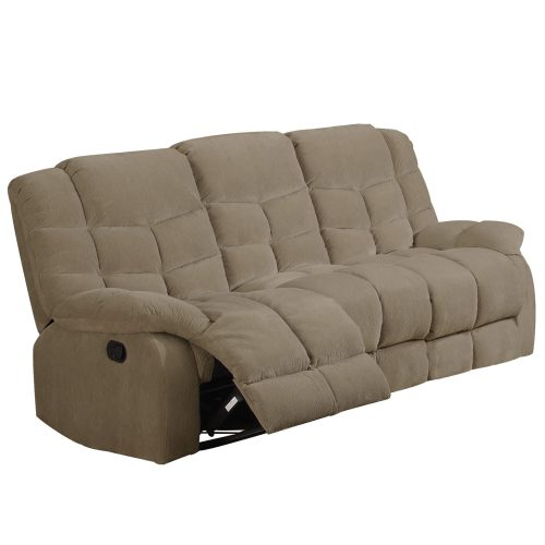 Heaven on Earth Collection - Reclining sofa - Three-quarter view partial recline - SU-HE330-305