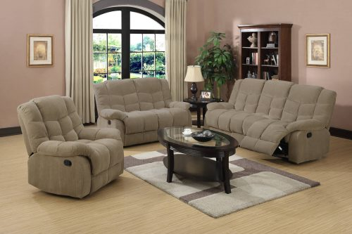 Heaven on Earth Collection - Reclining sofa - loveseat - armchair in living room setting - SU-HE330