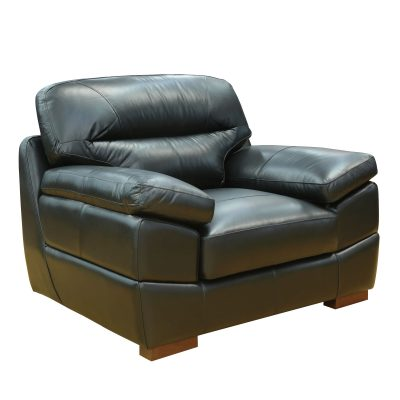 Jericho Chair in Black - Three quarter view - SU-JH3780-101SPE
