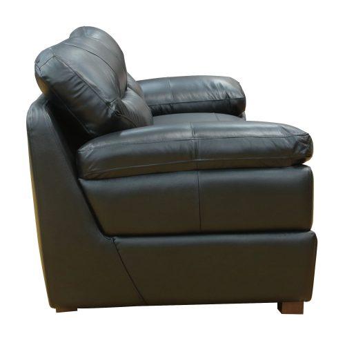 Jayson Sofa in Black - Side view - SU-JH3780-301SPE