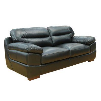 Jericho Sofa in Black - Three quarter view - SU-JH3780-301SPE