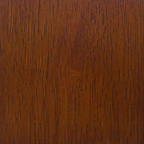 Kitchen island with matching stools - Nutmeg finish with light oak trim and Terracotta rose time top - nutmeg finish- CY-KITT02-NUT