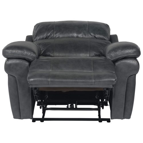 Luxe Collection - Reclining Armchair - front view full recline - SU-9102-94-1394-85