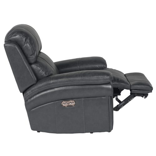 Luxe Collection - Reclining Armchair - side view partial recline - SU-9102-94-1394-85