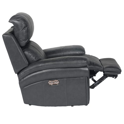 Luxe Collection - Reclining Armchair - side view partial recline power headrest forward - SU-9102-94-1394-85