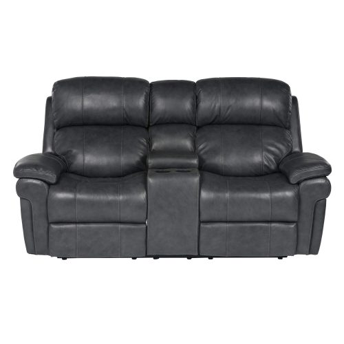 Luxe Collection - Reclining Loveseat - front view - SU-9102-94-1394-73