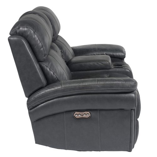 Luxe Collection - Reclining Loveseat - side view - SU-9102-94-1394-73