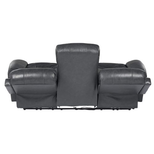 Luxe Collection - Reclining Sofa - back view in recline - SU-9102-94-1394-58