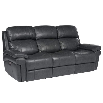Luxe Collection - Reclining Sofa - three-quarter view - SU-9102-94-1394-58