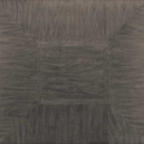 Shades of Gray Collection - Square pub table with shelf - top view - DLU-EL4545C