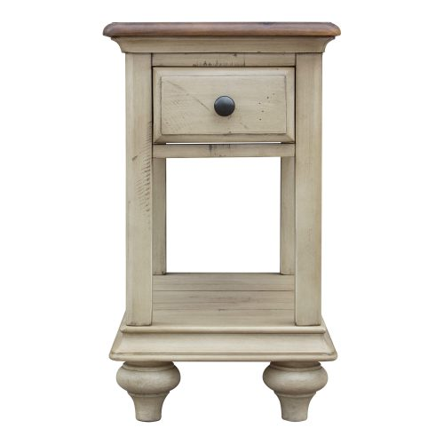 Shades of Sand Narrow End table - front view - CF-2393-0490