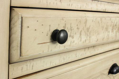 Shades of Sand Nightstand - knob detail - CF-2336-0490