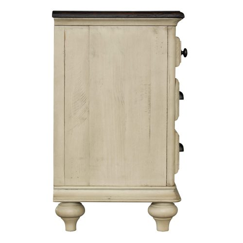 Shades of Sand Nightstand - side view - CF-2336-0490