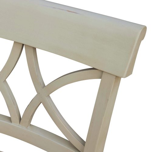 Shades of Sand Vanity chair - chair back detail - CF-2375-0489