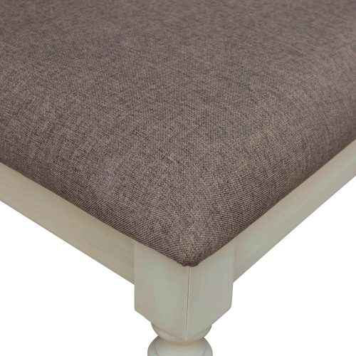 Shades of Sand Vanity chair - seat upholstery detail - CF-2375-0489