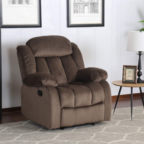 Teddy Bear Collection - Reclining armchair - living room setting three-quarter view - SU-ZY660-108