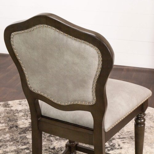 Vegas Collection 24 inch high gaming chair - seat back view - CR-87711-24