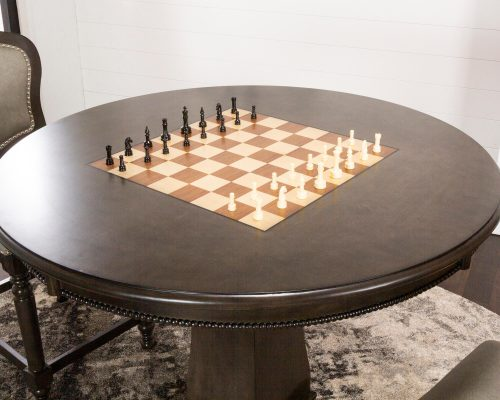 Vegas Collection Poker Table - Chess top CR-87711-TCB
