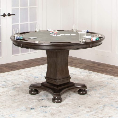 Vegas Collection Poker Table - poker table view CR-87711-TCB