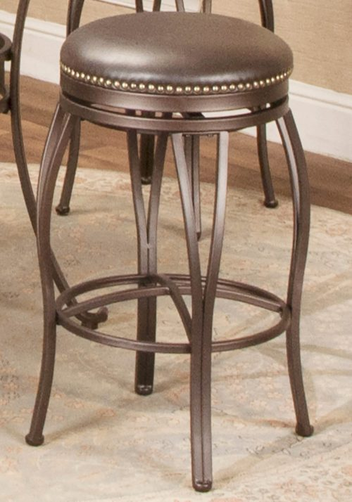 Victoria Dining Collection - Backless Swivel Barstool - Room setting - CR-J3005-30-RTA