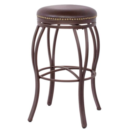 Victoria Dining Collection - Backless Swivel Barstool - three-quarter view - CR-J3005-30-RTA