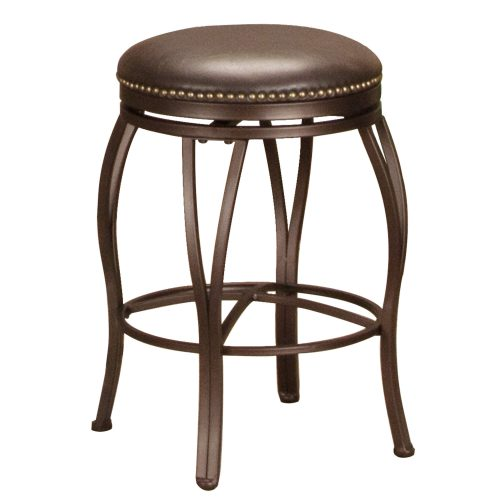 Victoria Dining Collection - Backless Swivel Count stool - three-quarter view -CR-J3005-24-RTA