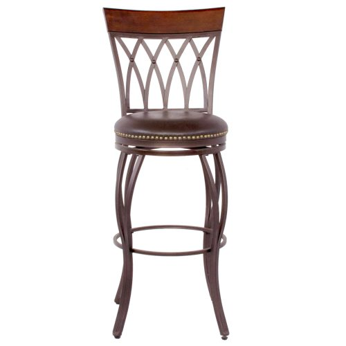 Victoria Dining Collection - Highback Swivel Barstool - front view - CR-J3009-30-RTA