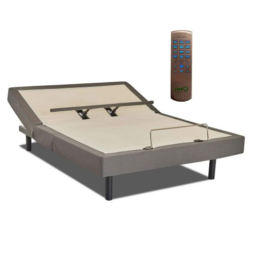 875 Adjustable Bed Base, Queen with Wi-Fi Wireless Remote with Massage and USB - queen size SSS-875-Q