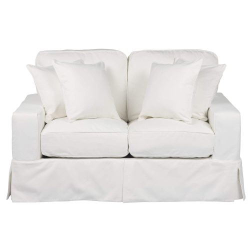Americana Slipcovered Collection - Loveseat - front view SU-108510-391081
