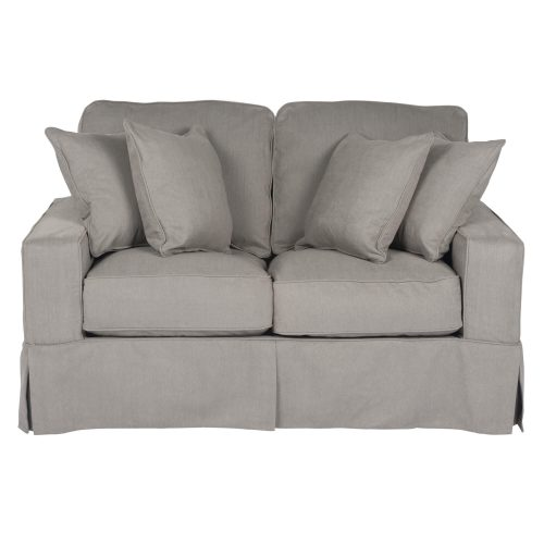 Americana Slipcovered Collection - Loveseat - front view SU-108510-391094